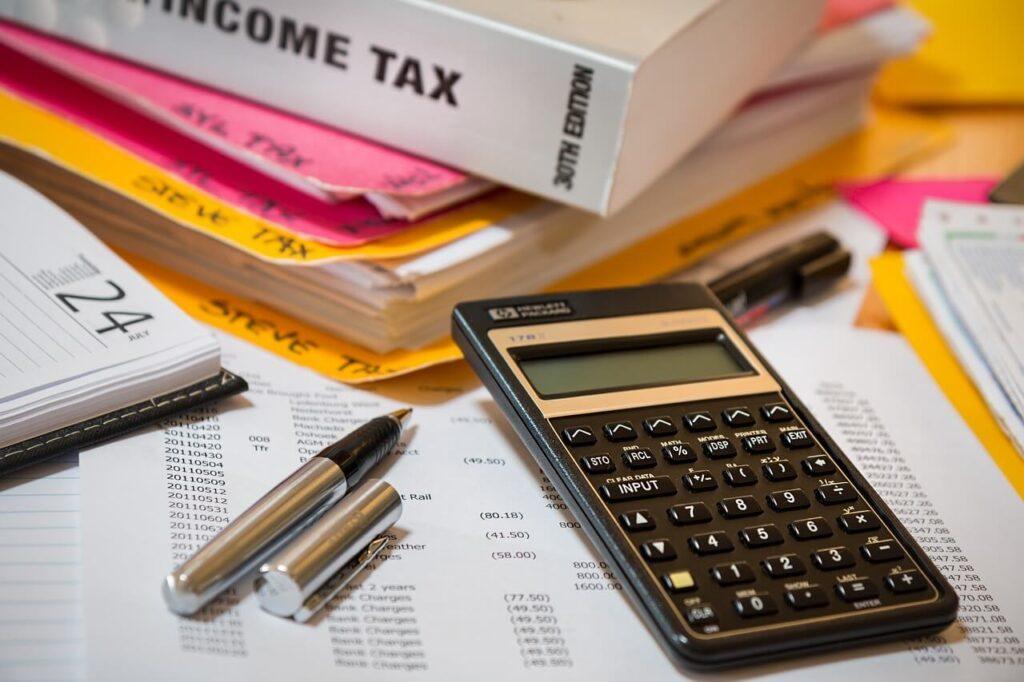 self-assessment tax calulations
